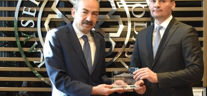 Belarus Cumhuriyeti heyeti KTO'yu ziyaret etti