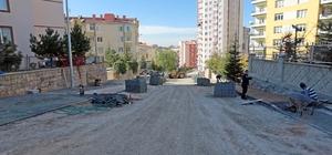 Kiçiköy Mahallesine Kaldırım Ve Otopark