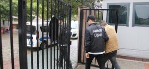 Uşak polisinden başarılı narkotik operasyonu