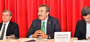 """Başkan Çetin: """"Adana'da yarım kalan her işi tamamlayacağız"""" Çukurova Belediye Başkanı Soner Çetin, Adana'da metronun sadece ikinci etabının değil üçüncü ve dördünce etabının da yapılması gerektiğini belirtti"""
