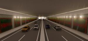 Terminal Kavşağı'ndaki katlı kavşak çalışmaları hızla ilerliyor