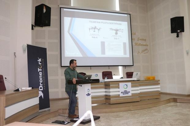 Ordu'da belediyelere drone eğitimi