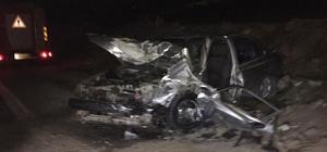 Yahyalı'da trafik kazası: 1 ölü 4 yaralı