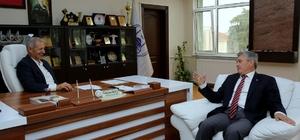 Başkan Genç'ten Süleyman Dişli'ye ziyaret