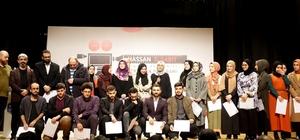 """""""Hassan Bin Sabit Sinema Akademisi"""" öğrencileri sertifikalarını aldı"""