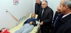 Yahyalı'da yatağa bağımlı hastalara motorlu yatak dağıtıldı