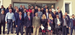 Milas'ta emlakçılar yetki belgesi hakkında bilgilendirildi