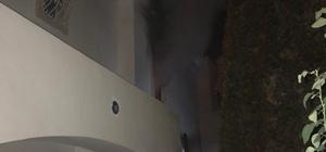 Ütüden çıkan yangında 2 kişi dumandan etkilendi