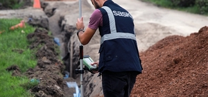 Aralık Mahallesine 6 bin 280 metrelik içmesuyu hattı yapıldı