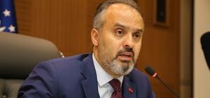 """Ak Parti Bursa'da """"Aktaş ile devam"""" dedi Ak Parti'nin Bursa Büyükşehir adayı mevcut başkan Alinur Aktaş oldu"""