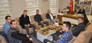 Başkan Öztürk'e, öğrenci meclisi başkanlarından ziyaret