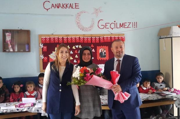 VEDAŞ, öğretmenleri yalnız bırakmadı Sınırın sıfır noktasında görev yapan öğretmenler ziyaret edildi