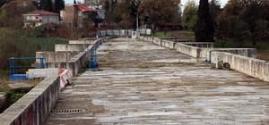 (Özel) Bin 500 yıldır ayakta duran Justinianus Köprüsü'nde hamam yapısı ortaya çıktı Dünya Mirası Geçici Listesine giren köprüde restorasyon çalışmaları devam ediyor