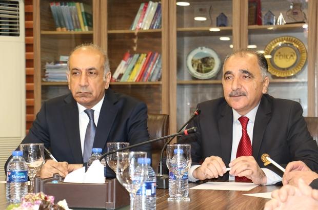 Kuzey Irak çıkarması yapan Türk iş insanları ticareti geliştirmek için anlaşma imzaladı Diyarbakırlı iş insanları Türkiye ile Kuzey Irak işbirliği protokolü imzaladı