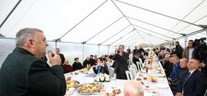 Abhaz ve Çerkezler'den, Başkan Toçoğlu'na hizmet teşekkürü