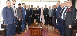 Türk iş insanları Erbil Başkonsolosu ile iki ülke ticaretini masaya yatırdı