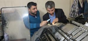 Siirt'te yerel gazeteler denetlendi