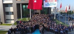 Başkan Büyükkılıç'a Melikgazi Belediye Personelinden Coşkulu Karşılama