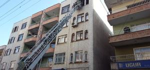 Diyarbakır'da ev yangını