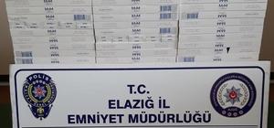 Elazığ'da 400 paket kaçak sigara ele geçirildi