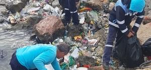 Adana'da sulama kanalları, akarsular ve limanlar atıklardan temizlendi