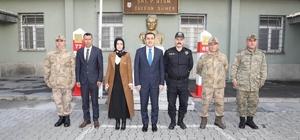 Vali Öksüz Ermenistan sınırında incelemelerde bulundu