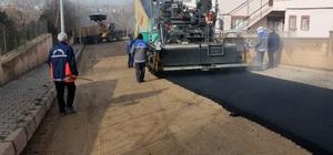Yahyalı'da asfaltlama çalışmaları hız kesmiyor