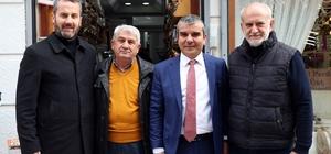 """Özüm esnaf ve eşraf ziyaretlerini sürdürüyor Rıdvan Özüm: """"Şehir aidiyeti oluşturacağız"""""""