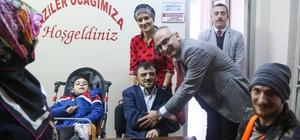 Başkan Yılmazer, engelliler gününü kutladı
