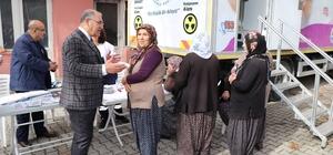Pozantı'da ücretsiz evde sağlık ve bakım hizmetleri