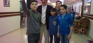 Kastamonulu Müslüm Baba, 'Müslüm' filmini izledi
