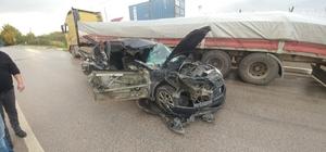 2 çocuğun öldüğü feci kazada tır sürücüsü tutuklandı