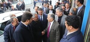 Başkan Büyükkılıç Sarız ve Pınarbaşı'nı ziyaret etti