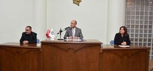Nazilli'de yılın son meclis toplantısı yapıldı