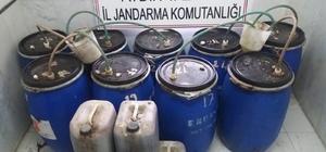 Aydın'da 1174 litre kaçak içki ele geçirildi