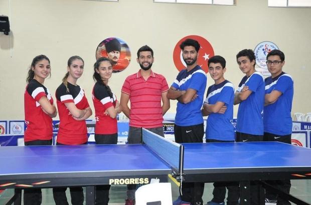 Malatya Büyükşehir Belediyespor Masa Tenisi sezonuna hazır