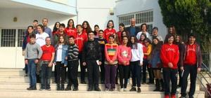 Aydın Özel Kavaklı Anadolu Lisesi'nden engelli öğrencilere ziyaret