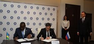 Rusya ve Ruanda nükleer enerjinin barışçıl kullanımı için anlaşma imzaladı İki ülke arasındaki anlaşma, Rusya adına Akkuyu NGS'yi yapan Rosatom tarafından imzalandı