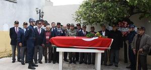 Milas'ta Kore Gazisi son yolculuğuna uğurlandı