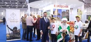 """""""Dünyanın merkezi"""" Travel Turkey'de Sivrihisar Belediyesi, Travel Turkey İzmir'de stant açtı"""