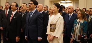İmparator Akihito'nun doğum günü onuruna resepsiyon