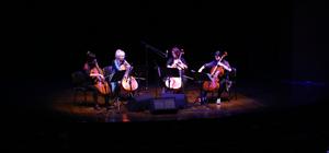 Avusturyalı 4 kadın çellistten Mersin'de konser