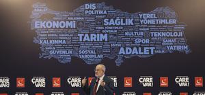 """""""Türkiye'nin Geleceği İçin Çare Var"""" konferansı"""