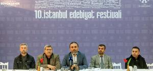 """""""10. İstanbul Edebiyat Festivali"""""""