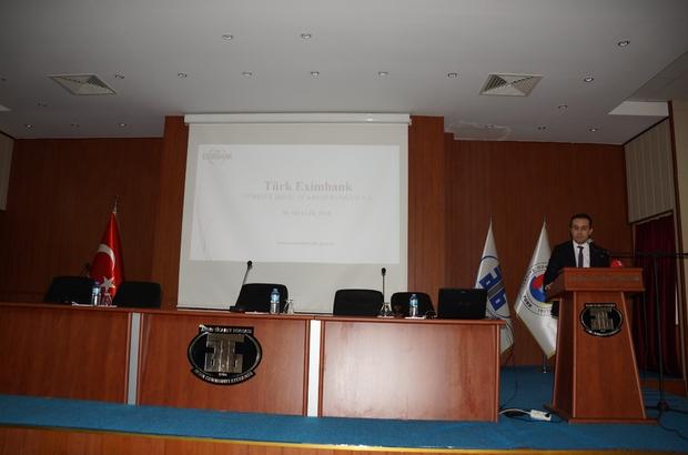 ATB'de Eximbank bilgilendirme toplantısı yapıldı