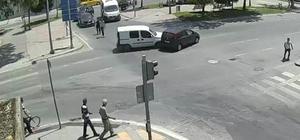 Sakarya'da meydana gelen trafik kazaları kameralara yansıdı