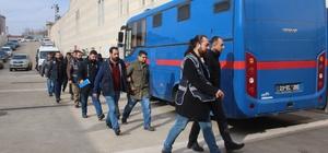 Elazığ'da FETÖ'den gözaltına alınan 6 asker adliyeye sevk edildi