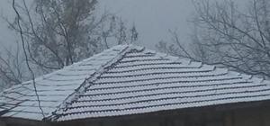 Gümeli'nin tepelerine ilk kar yağdı