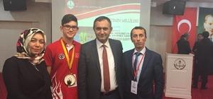 Bakan Selçuk,  Avrupa Satranç Şampiyonu Serhat Berat'ı kabul etti