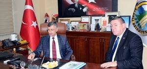 Bektaş, Alaplı Belediye Başkanı Nuri Tekin'i ziyaret etti